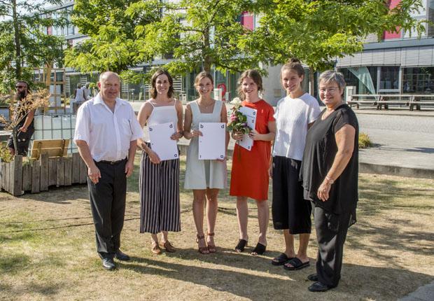 Bund deutscher Innenarchitekten zeichnet Detmolder Studierende aus