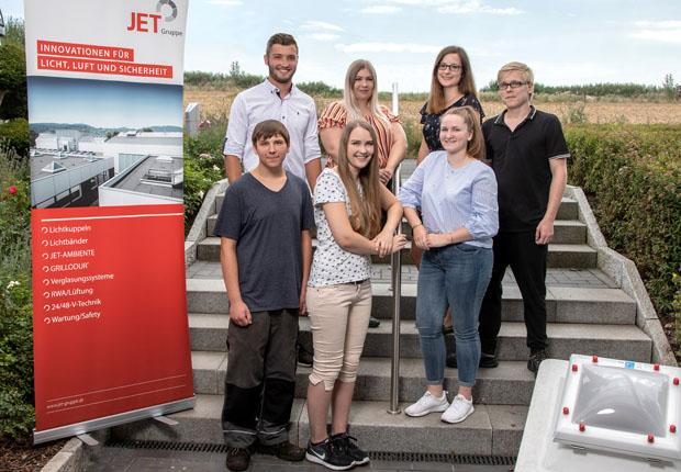 JET-Gruppe begrüßt Azubi-Jahrgang 2018