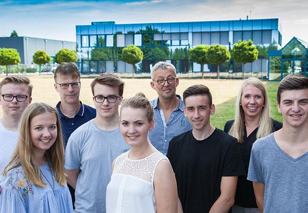 KUPER begrüßt neue Auszubildende in Rietberg
