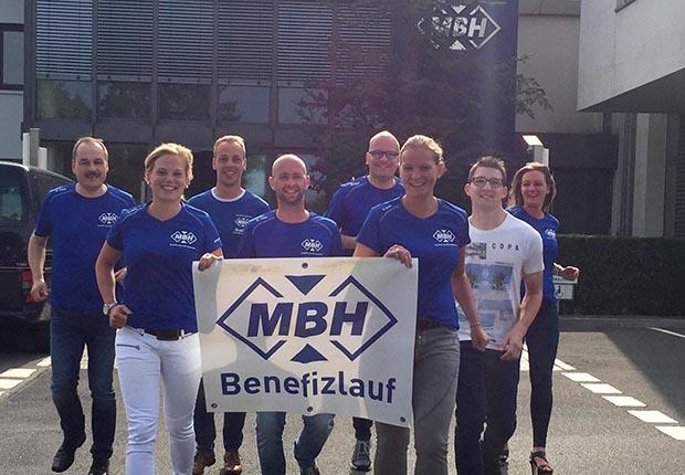 Der 11. MBH-Benefizlauf zugunsten der Kinderkrebshilfe