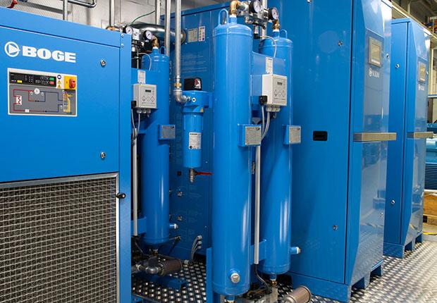 Container von BOGE: maßgeschneiderte Druckluftlösungen