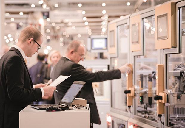 Automatisierung und Digitalisierung als Wachstumstreiber auf der 14. FMB. (Foto: Clarion Events Deutschland GmbH)