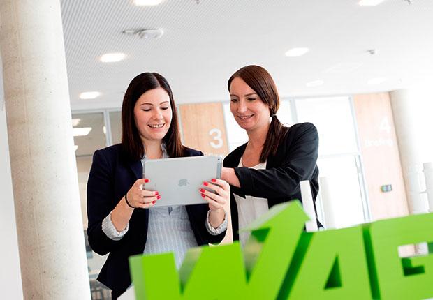 Die WAGO-Gruppe kombiniert ein umfassendes Angebot zur Work Life Balance mit individuellen Karrieremöglichkeiten für Frauen. (Foto: WAGO)