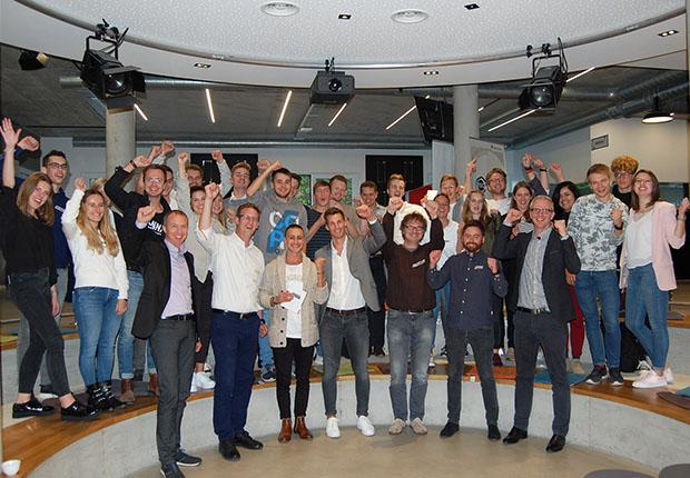 Die Workshopteilnehmer von Wortmann inkl. Fach-Jury. (Foto: Wortmann)