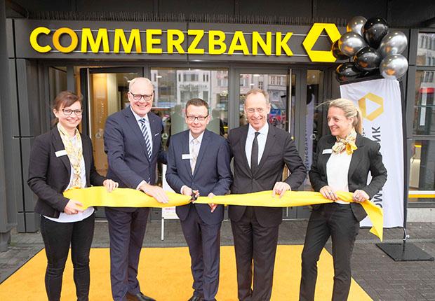 Commerzbank eröffnet die modernste Filiale in Westfalen