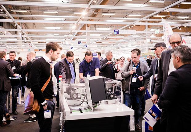 Zum Abschluss der FMB – Zuliefermesse Maschinenbau 2018 eine positive Bilanz: Mehr Aussteller – mehr Besucher – attraktive Neuheiten. (Foto: FMB)