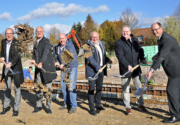 Spatenstich: Frede realisiert neues Backhaus in 3. Generation