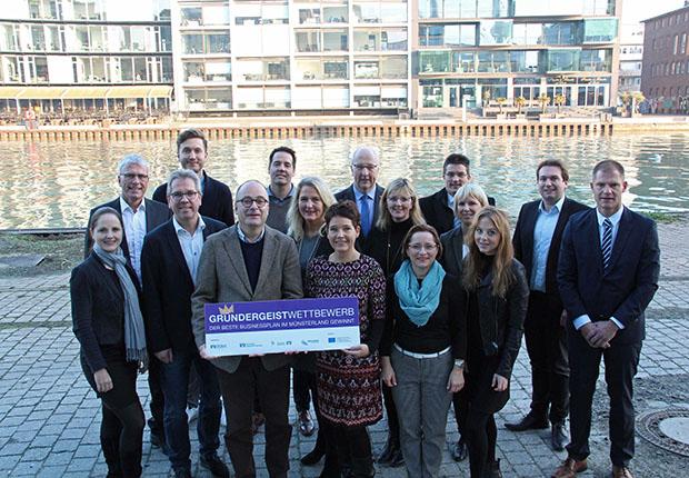 Businesspläne im Münsterland: Gründergeist Wettbewerb