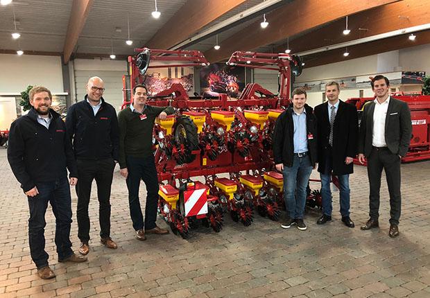 Maschinenbau der FH Münster profitiert von Kooperation mit GRIMME