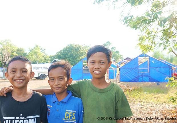 100.000 Euro Spende für SOS-Kinderdorf in Indonesien