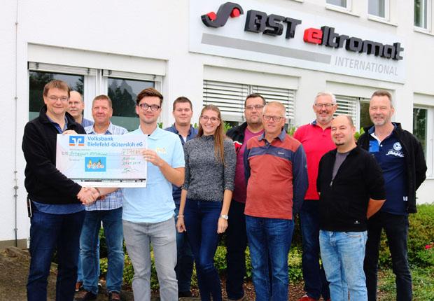 BST eltromat – Spendenaktion für zwei gute Zwecke