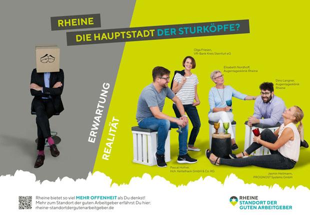 Rheine – Standort der guten Arbeitgeber wirbt für den Wirtschaftsstandort