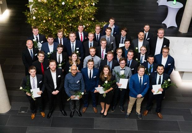 Die Preisträger der WAGO-Stiftung. (Foto: WAGO)