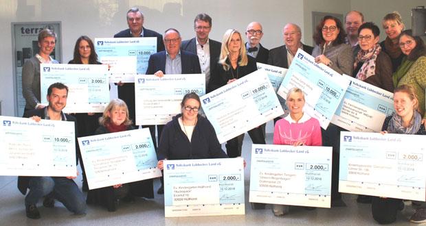 WORTMANN AG spendet 72.000 Euro an wohltätige Organisationen und Kindergärten. (Foto: WORTMANN)