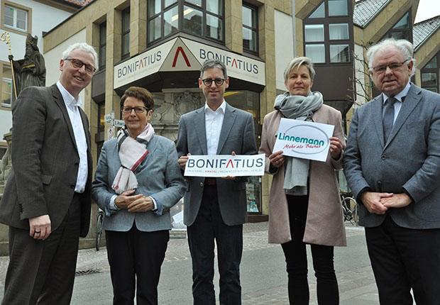 Bonifatius und Linnemann gemeinsam für Stadt und Region