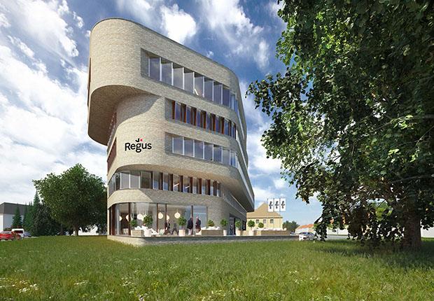 Grundsteinlegung für Winkelhaus an der Netter Heide