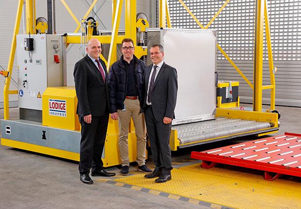 Lödige Industries liefert Luftfrachtausrüstung für PAD