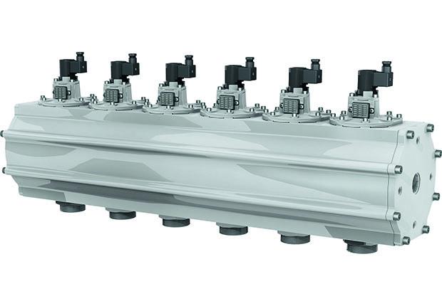 IMI Precision: Filterreinigungssystem der Marke IMI Buschjost