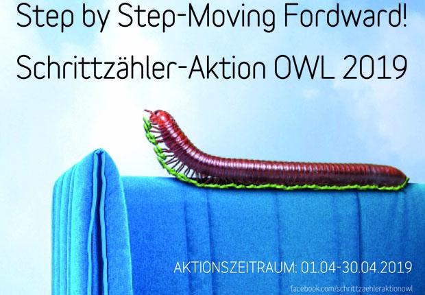 Schrittzähler-Aktion – Unternehmen aus OWL laufen um die Wette