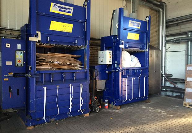 Strautmann Ballenpressen sorgen für Sauberkeit und Ordnung