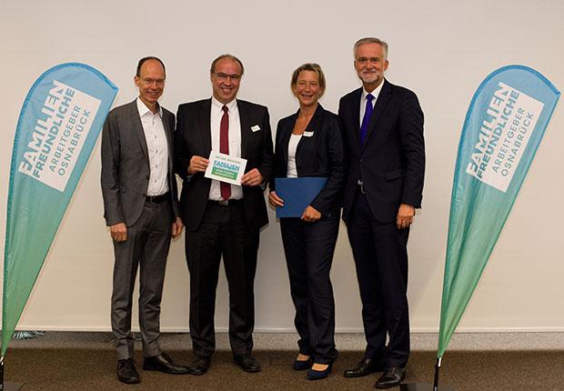 Osnabrücker Kanzlei ist Familienfreundlicher Arbeitgeber