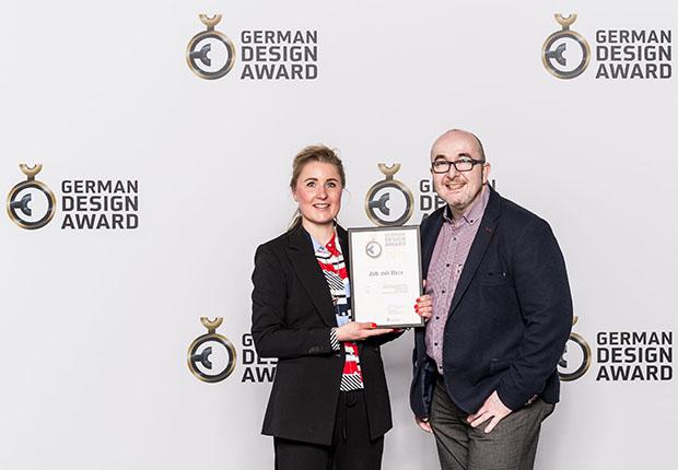 Die Osnabrücker Agentur team4media erhält German Design Award 2019