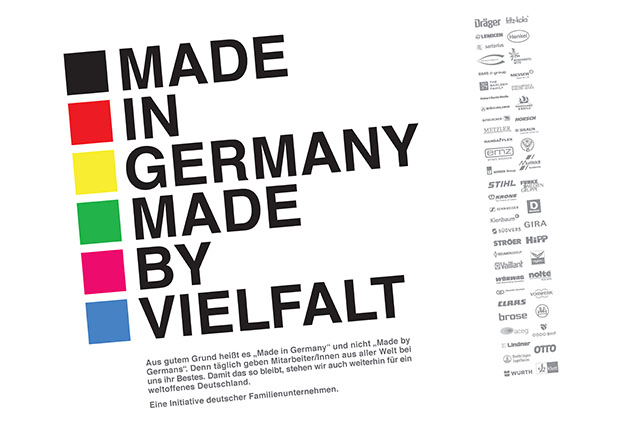 Made in Germany – Made by Vielfalt