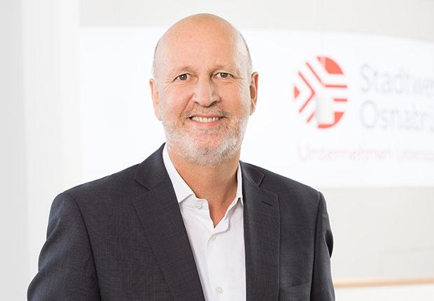 Stephan Rolfes – Aufsichtsrat verlängert Vertrag vorzeitig bis Frühjahr 2023. (Foto: Stadtwerke Osnabrück)