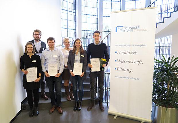 Stipendiaten der Paul Schnitker Stiftung ausgezeichnet