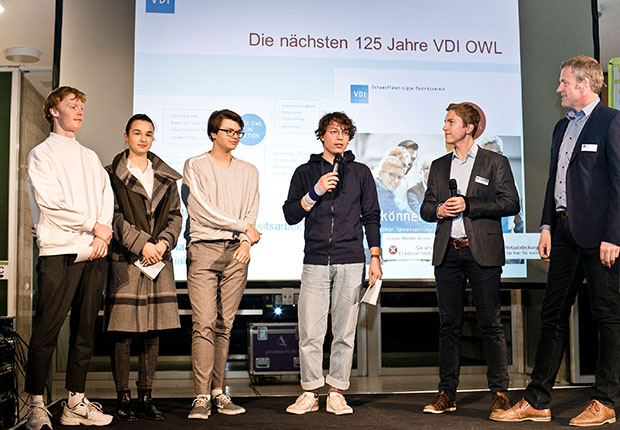 125 Jahre VDI OWL: Rund 180 Mitglieder und Gäste in der WissensWerkStadt