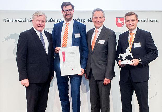 Amazonen-Werke ausgezeichnet mit Außenwirtschaftspreis