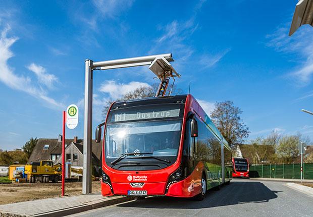 E-Bus-Linie M1 jetzt komplett elektrisch