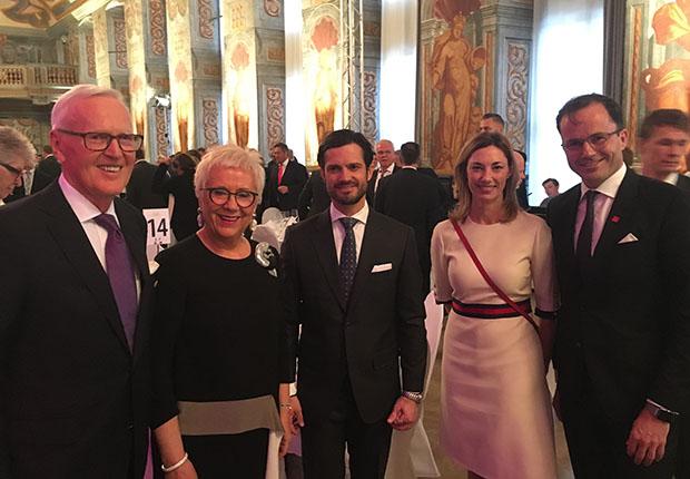 Royaler Glanz für Dietmar und Margrit Harting