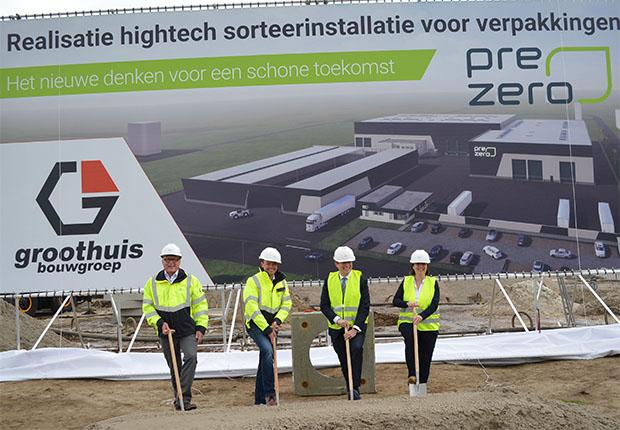 PreZero Recycling Nederland startet Bau der LVP-Sortierung