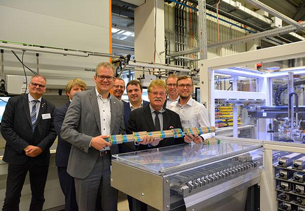 Elmar Brok am Europatag zu Gast bei Weidmüller