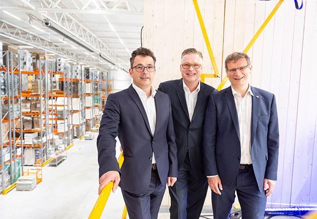 Koch International eröffnet neue Lagerhalle