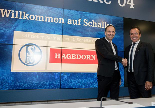 Hagedorn wird neuer Partner des FC Schalke 04