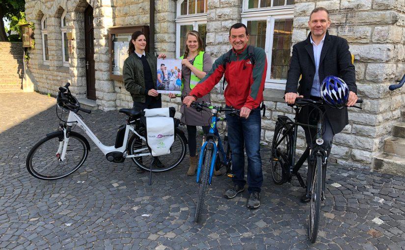 Barntrup beteiligt sich an Stadtradeln 2019 Aktion