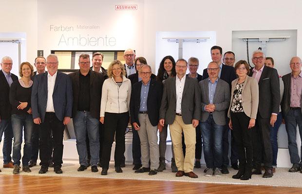 Tagung zum Thema Digitalisierung mit mit WIGOS-Arbeitskreis bei ASSMANN Büromöbel.( Foto: ASSMANN)