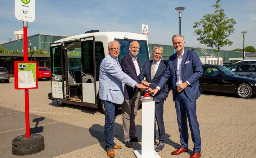 Stadtwerke starten Hubi-Testbetrieb