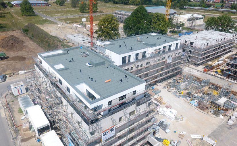 Hörnschemeyer Dächer steigt Bauherren im Landwehrviertel aufs Dach