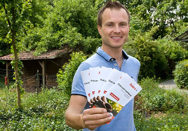 15.000 Euro für Nachhaltigkeit: Esders GmbH lobt Zukunftspreis aus