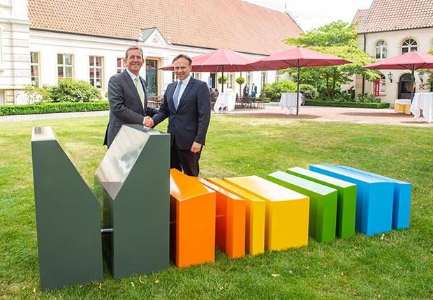 Münsterland e.V. präsentiert neuen Claim und neues Logo für die Region