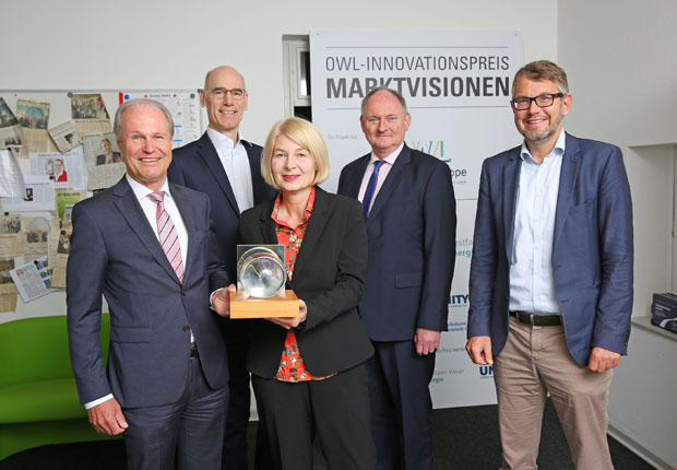 Innovationen im Rampenlicht: OWL-Innovationspreis MARKTVISIONEN