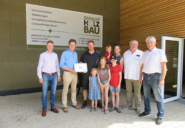 Brinker Holzbau GmbH neu im Industriegebiet Lingen-Nord