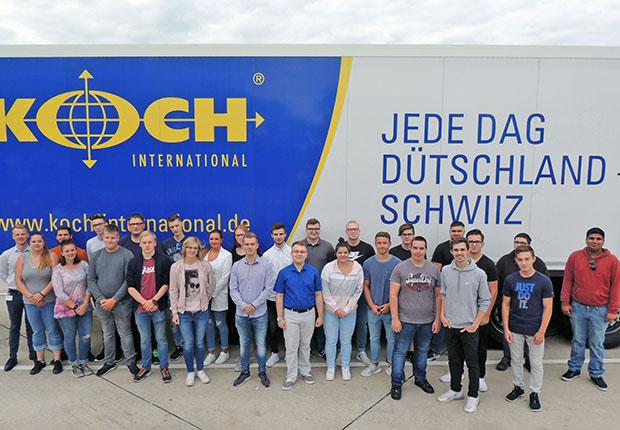 Berufsstart der Auszubildenden bei Koch International