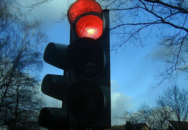 Konjunktur-ampel schaltet auf rot