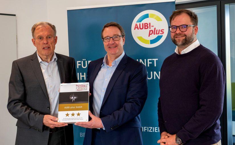 Recruiting-Excellence-Award für AUBI-plus