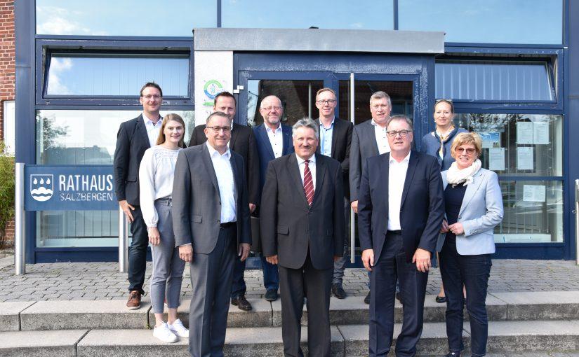 """""""Auch Salzbergener Unternehmen profitieren vom Hafen Spelle-Venhaus"""""""