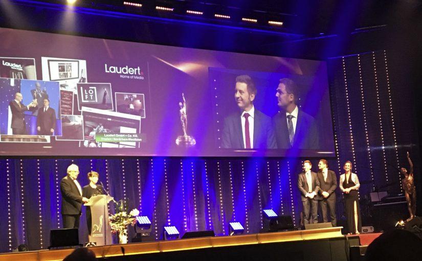 Laudert erhält Ehrenplakette 2019 beim Großen Preis des Mittelstandes